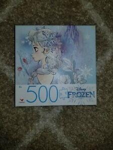 Disney Frozen Elsa 500 Piece Puzzle New in Box