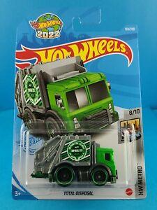 2021 Mattel Hot Wheels HW METRO 8/10 TOTAL DISPOSAL #139/250