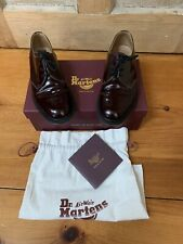 Dr. Martens Archie Oxford Shoes Oxblood Smooth Leather Mens Size 8