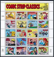 US  #3000 32¢ COMIC STRIP CLASSICS Sheet of 20 - MINT VF NH OG