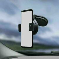 Mini 360 Rotation in Car Windscreen Suction Mount Mobile Phone Stand Holder O3B3