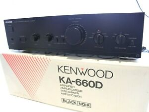 KENWOOD KA-660D Integrated Stereo Amplifier - 60 watts MINT BOXED