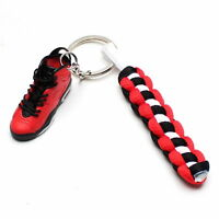 3D Mini Sneaker Shoes Keychain Infrared 23 Red With Strings for Air Jordan 6 Hot