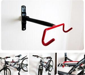 Supporto Portabici Porta Bicicletta Bici Gancio Staffa Muro Pieghevole mtb Strad