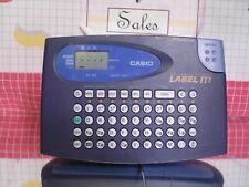 New listing Casio E-Z Label Printer Label-It Kl-60