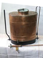 Original Antique Copper Vineyard Sprayer knapsack