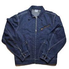 Vtg 60S Lee Jelt Denim Sanforized 91-B Denim Jacket Usa Union Made Sz 40 Reg