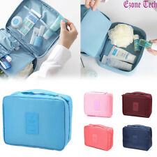 Travel Cosmetic Bag Makeup Bag Toiletry Case Hanging Pouch Wash Organizer Bag