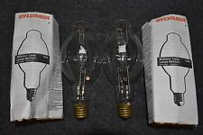 2 SYLVANIA Metalarc Lamp M/MS Metal Halide Vintage Industrial Light bulbs AFIE