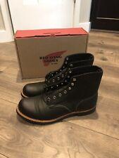 New Red Wing Iron Ranger Boots 8084 Black Vibram Mens 11 D