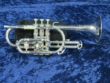 Holton Galaxy Silver Cornet Ser#440045 Plays Great Killer Sound!
