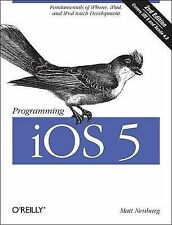 Programming iOS 5: Fundamentals of iPhone, iPad, and iPod touch Development, Mat