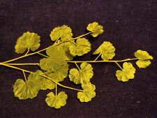"Vintage Millinery Flower Leaf 1 1/2""- 2 1/2"" Green Spray for Hat or Wedding Xl"