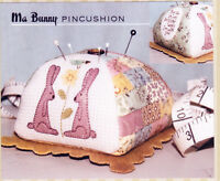 PATTERN - Ma Bunny Pincushion - cute pieced & applique PATTERN - The Birdhouse