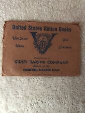United States Ration Books cover