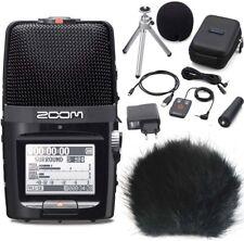 Zoom h2n enregistreur + Accessoires Set + Vent