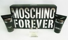 Moschino Forever Men's 3 PC Gift Set Shower gel, After Shave & EDT 4.5 ml .12 oz