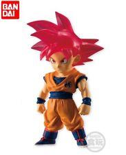 Bandai Dragon Ball Z Super Adverge 5 Mini Figure Son Goku Super Saiyan God Red