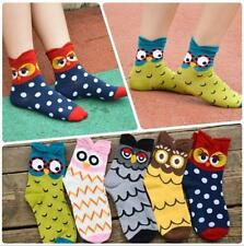 Ankle-High Animal Print Socks for Women