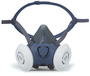 Moldex Half Mask 7002 Respirator Size M+1 Pair P3 R Particulate Filter Cartridge