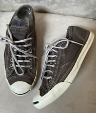 New Womens Converse Gray Jack Purcell Shoes 8