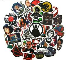 American Classic Film Series Assorted Skateboard Stickers Lot Of 50 Pieces