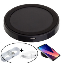 Qi Fast Rapid Wireless Charging Pad Power Bank Dock for LG + USB Charger Set