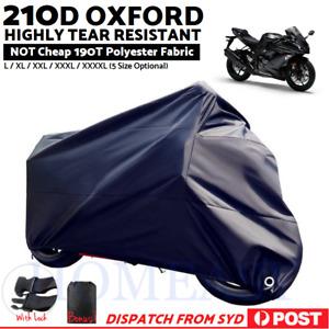 210D Oxford Motorcycle Motorbike Cruiser Motor Bike Cover Waterproof Outdoor