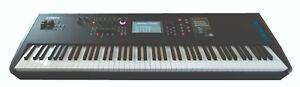 Yamaha Modx8 Synthesizer, 88 Tasten, Schwarz in Top-Zustand, OVP