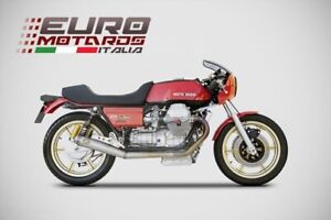 Moto Guzzi Le Mans Zard Exhaust Racing Full System with Removable dB killer