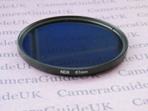 67mm ND8 Filter Neutral Density for Canon, Nikon, Sony, Pentax Camera Lens