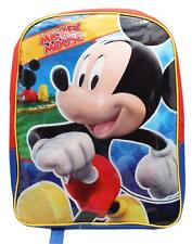 Mickey Mouse Clubhouse Disney School Gift Shoulder Pack Book Bag Tote Backpack