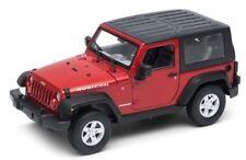 Véhicules miniatures rouge pour Jeep 1:24