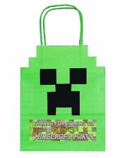 PERSONALISED MINECRAFT Party Gift Loot Bags Birthday boy girl hen stag