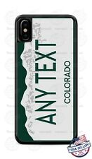 Colorado State License Plate Design Phone Case For iPhone 11Pro Samsung LG etc