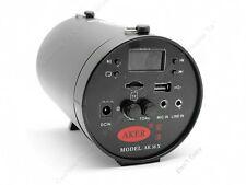More details for portable aker ak38 voice amplifier booster speaker +mic built-in battery blacks