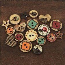 "Prima Marketing Romance Novel Wood Buttons .75"" To 1"" - 258242"