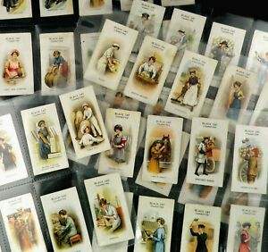Women on War Work Cigarette Cards by Carreras Issued 1916 Set of 50