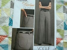 Vogue 8479 Misses' & Petite Pants sewing pattern sizes 6-8-10-12