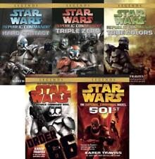 Star Wars REPUBLIC COMMANDO Series Karen Traviss PAPERBACK Book Collection 1-5