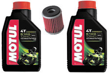 YAMAHA YZ450F SERVICE KIT MOTUL 5100 10W40 OIL AND K&N FILTER 2003-2017