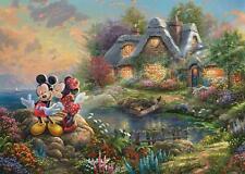 Schmidt Kinkade: Disney Mickey Mouse Jigsaw Puzzle (1000 pieces)