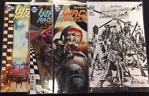 WACKY RACELAND #1 (x4) variant covers - DC Comics / Hanna Barbera