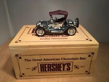 HERSHEY'S 1914 CHEVY DIE CAST ROADSTER in WOODEN BOX - ERTL #F299