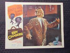 "1955 SPY CHASERS Original 14x11"" Lobby Card VG 4.0 Bowery Boys Leo Gorcey"