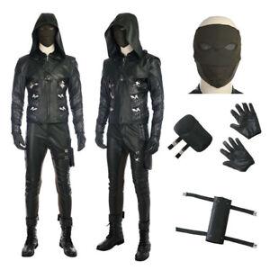 TV Green Arrow Season 5 Prometheus Cosplay Costume Halloween Customize Garment