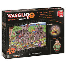 Wasgij Back to 2 a 14th Century Castle Jigsaw Puzzle 1000-piece
