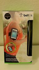 "Black Belkin Storage Plus Armband 5"" Smartphones"