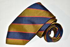 Men's Ben Silver Charleston Blue   Silk Neck Tie