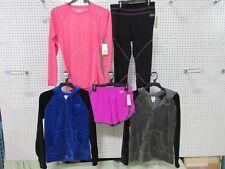 5 EVERLAST MEDIUM GYM CLOTHES PANT WORKOUT FULL ZIP HOODIE SWEATSHIRT LADIES LOT